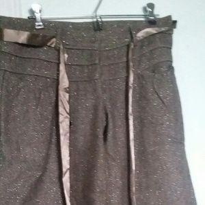 BANANA U.S.A. Short capris. Size Medium. Brown